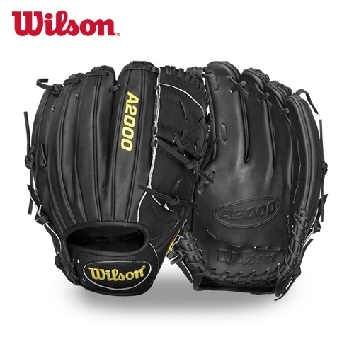 윌슨 2021 A2000 WBW100236 GM 11.75인치 투수글러브 클레이튼 커쇼 모델 블랙.jpg